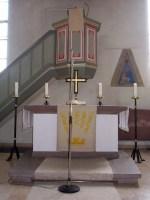 Altar Kirche Neidenstein